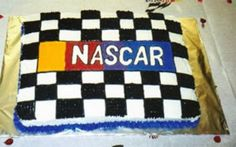 Nascar Racing Birthday Cakes