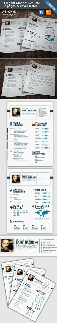 30 currículos para você se inspirar e causar uma boa primeira impressão! | Design Culture