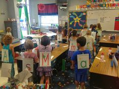 Kindergarten Faith: We Are Learning Our Letters - Yeah