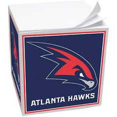 Who doesn't need a Hawks paper cube for their office?