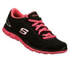 Women's Skechers Gratis - Purestreet - Pink Black