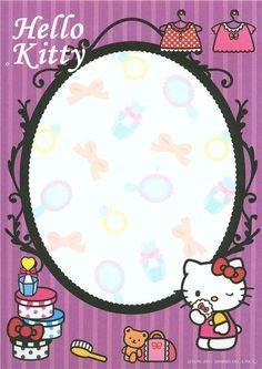 kawaii Hello Kitty face Memo Pad from Japan 5