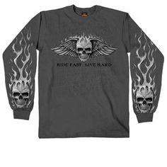 Picture of Bad Scratch Long Sleeve Biker Tee