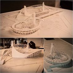 #model #finalproyect yoyogi nacional gymnasium by Kenzo Tange, Japan. Made by me, architecture student