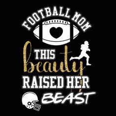 This Beauty - Football Mom Shirt Ladies Relaxed Fit V-Neck Sports T-Shirt K Morrison Designs Football Spirit, Football Cheer, Football Quotes, Youth Football, Flag Football, Football And Basketball, Football Moms, Alabama Football, Football Banquet
