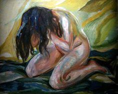 Vue de l'exposition Edvard Munch
