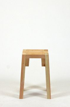 """Real- Stool"" Searching for comfort. Used wood stools Prototype style stools from used pine. Diy Stool, Wood Stool, 2x4 Furniture, Furniture Projects, Modern Furniture, Furniture Movers, Workshop Stool, Small Wood Projects, Into The Woods"