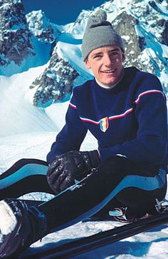 Jean-Claude Killy (born August 30, 1943) is a former World Cup alpine ski racer from France. Born in Saint-Cloud, Hauts-de-Seine, he dominated the sport in the late 1960s. He was a triple Olympic champion, winning the three alpine events at the 1968 Winter Olympics, becoming the most successful athlete there. He also won the first two World Cup titles, in 1967 and 1968.