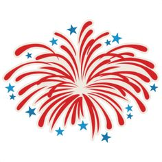 {Daily FREE Cut File} Firework Blast - Available for FREE today only, July 4