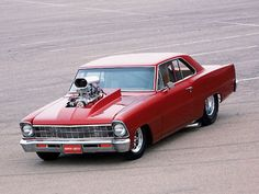 Blown   66 Chevy Nova