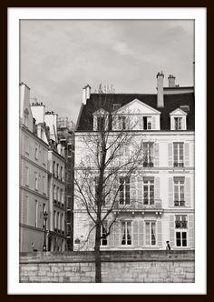 Koti kaupungin laidalla: Mustavalkoista taidetta seinille