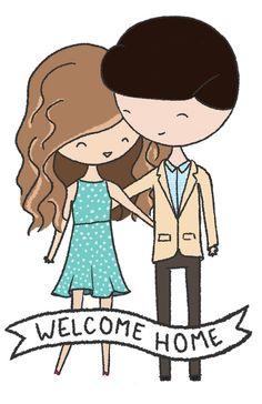 Custom Couple Illustration  11x17 by thepinksamurai on Etsy, $50.00