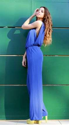 the perfect jumpsuit/ azul klein