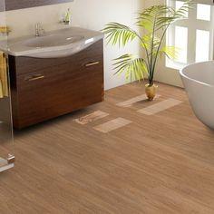 9,90 €/qm: RESTPOSTEN Vinylboden Eiche hellbraun Holzstruktur selbstklebend. Sehr geringer Aufbau. Maße: 914,4x152,4x2mm. Nur solange der Vorrat reicht im Onlineshop von www.parkett-direkt.net