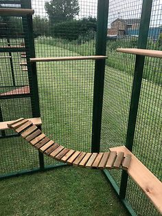 Shelves are designed so that cats can jump, climb and lay on these to help keep them fit and occupied. Ladders are: long approx x wide approx. Shelves are: approx long x wide approx. Diy Cat Enclosure, Outdoor Cat Enclosure, Outdoor Cat Run, Cat House Outdoor, Cat Pen, Cats Outside, Adventure Cat, Cat Cages, Cat Playground