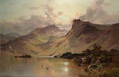 Alfred de Breanski Snr (1852-1928), A Highland Loch.