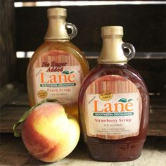 No Sugar Added Syrups made with real Georgia peaches! Shop now Peach Syrup, Southern Recipes, Online Gifts, Peaches, Pecan, Baking Recipes, Food To Make, Georgia