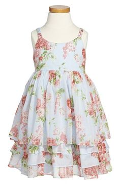 Pippa & Julie Tiered Floral Sundress (Little Girls) available at #Nordstrom