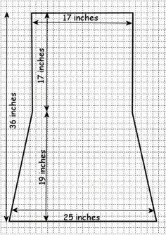 Adult bib pattern
