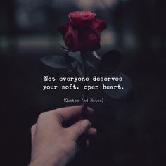 Not everyone deserves your soft open heart.   by: Jameasons via (http://ift.tt/2lUPcUP)