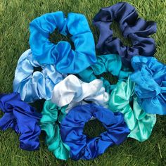 Blue Sating Collection💙 available in 7+ different colours✨ available in my Etsy Shop, Link in bio🛍 #scrunchies #blue #shopping Scrunchies, Different Colors, My Etsy Shop, Colours, Shopping, Link, Pattern, Blue, Collection
