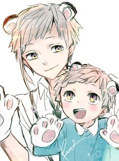 Stray Dogs Anime, Bongou Stray Dogs, Anime Siblings, Detective, Dog Wallpaper, Boy Art, Cute Drawings, Anime Characters, Chibi