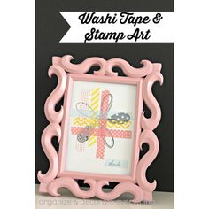 Washi Tape Home Decor DIY Projects - The Cottage Market