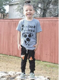 Jay-Z, Pizza, the great outdoors - what more could a kid need?! Awesome toddler tees with rad gangsta-inspired references. (We have Unisex Adult Tees too!)