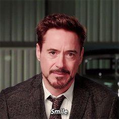 I hate when people tell me this, but I'll let him:-)<<<same but I mean it's Robert Downey Jr., if he told me to jump off a bridge I'd do it Marvel Tony Stark, Iron Man Tony Stark, Marvel Actors, Marvel Dc, Gifs, Wattpad, Disneysea Tokyo, Beau Gif, Memes Marvel