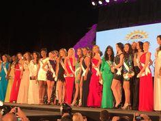 Las Candidatas al Miss Universe 2014, en el Recibimiento Oficial en el Doral en Miami..