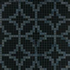 #Bisazza #Decori 2x2 cm Etoiles Nero | Feinsteinzeug | im Angebot auf #bad39.de 755 Euro/Pckg. | #Mosaik #Bad #Küche