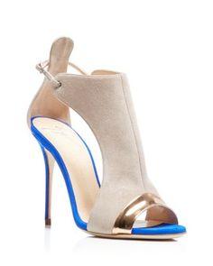 Giuseppe Zanotti Mistco Peep Toe High Heel Pumps | Bloomingdale's