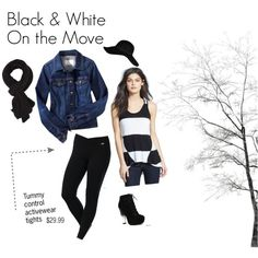 Workout leggings look @kohls. Easy style...out the door outfit. Active wear  fashion with slimming fit.
