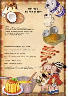 Flan facile à la noix de coco