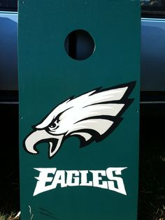 philadelphia eagles corn hole | Products I Love | Pinterest | Corn hole