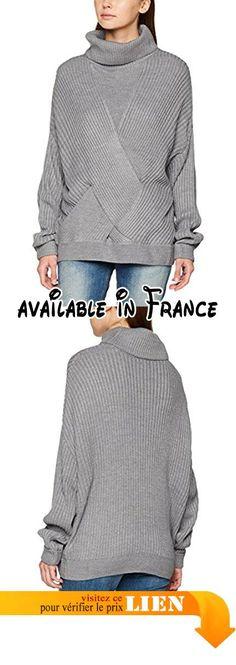 OLLEBOBO Femme Gilet Long Tricoté en vraie Fourrure de lapin Taille M Noir.   Apparel  OUTERWEAR   Pulls et gilets   Pinterest be8cc24b4fae