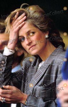 9-10-1989 Princess Diana Photo By:alpha-Globe Photos, Inc