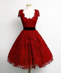 Charming Dark Red Lace Cap Sleeve Prom Party Dresses Elegant Knee Length A Line Plus Size Celebrity Dresses Gala Charming Dark Red Lace Flügelärmeln Prom Partykleider Elegante knielange A Line Plus Size Celebrity Kleider Gala Prom Dresses 2018, Prom Dresses With Sleeves, Prom Party Dresses, Evening Dresses, Short Dresses, Bridesmaid Dresses, Formal Dresses, Dresses 2016, Sleeve Dresses