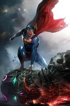 Action Comics #1000 (2018) Frankie's Comics, Sad Lemon Comics, 7Ate9Comics Exclusive Variant Cover by Francesco Mattina