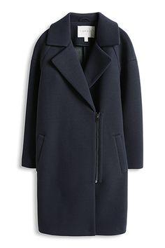 Esprit navy coat
