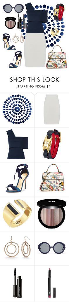 """""""Untitled #643"""" by mamatoodie-1 ❤ liked on Polyvore featuring BCBGMAXAZRIA, Rosetta Getty, Tory Burch, Alexandre Birman, Edge of Ember, Edward Bess, New Directions, Preen, Beauty Is Life and Old Navy"""