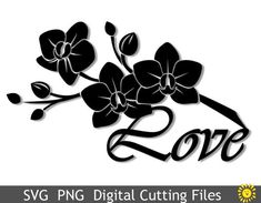 image 0 Scrapbooking, Cricut Explore Air, Svg Files For Cricut, Filing, Decoration, Cutting Files, Orchids, Templates, Etsy