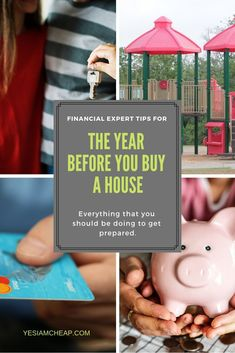 Tips for the Year Before You Buy a House What if some of the best personal finance experts came together to give you advice on exactly what you should do in the year before you bought a house? Well, they did and this is that article. Home Buying Tips, Buying Your First Home, Home Selling Tips, Money Saving Tips, Money Tips, Ways To Save Money, How To Get Money, House App, Buy House