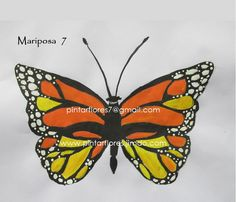 Butterfly One stroke. Mariposa One stroke. One Stroke, Butterfly, Halloween, Painting, Youtube, Butterflies, Painted Flowers, Paint Flowers, Monarch Butterfly