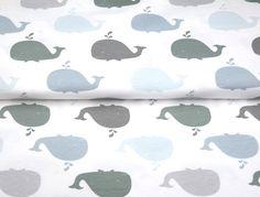 Stenzo17 3715-09 Tricot Bio-cotton walvis wit/grijs/heel lichtblauw
