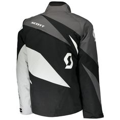 Scott COMPR Jackets (BLK/GRY). *DRYOsphere Technology**Insulation 160g**Removable Lining**SnowCuff* Insulation, Motorcycle Jacket, How To Remove, Athletic, Snow, Technology, Jackets, Fashion, Down Jackets
