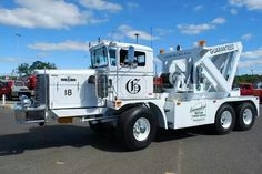 "Guaranteed Motor Towing Service, New Brunswick NJ - 1970 Oshkosh Model C drive w/ custom built unit ( aka ""Ugly"") Cool Trucks, Big Trucks, Towing And Recovery, Heavy Duty Trucks, Heavy Truck, Heavy Machinery, Tow Truck, Lego Truck, Emergency Vehicles"