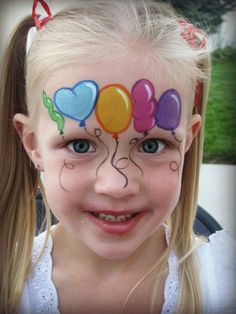Girls Face Painting Portfolio Face Fun - Face Fun