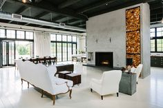 chic industrial design by emerick architects | Interior Design Files