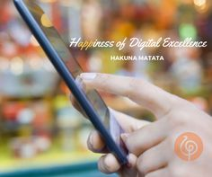 Happiness of digital excellence #HakunaMatata excited to unveil our new brand identity as we evolve to the next step in our journey of #Digital excellence. Our #Brand reflects celebration of #Happiness; it resonates with the capabilities we have built with passion, the creative spirit of our team and the delight of our #Customers.